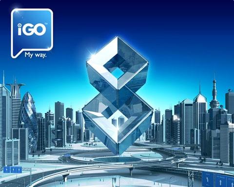 iGO 8 כולל מפת ישראל מעודכנת 07.2014 למערכת מולטימדיה ומכשירי ה-GPS!